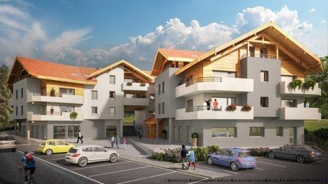 Appartement neuf Perspective à Saint-Paul-en-Chablais