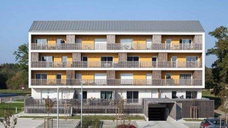 Appartement neuf Villas Verde investissement loi Pinel à Chartres-de-Bretagne