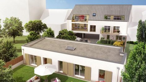 Appartements neufs Villa Madeleine investissement loi Pinel à Nantes