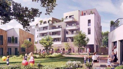 Appartement neuf Saint-Herblain C1 éco-habitat à Saint-Herblain
