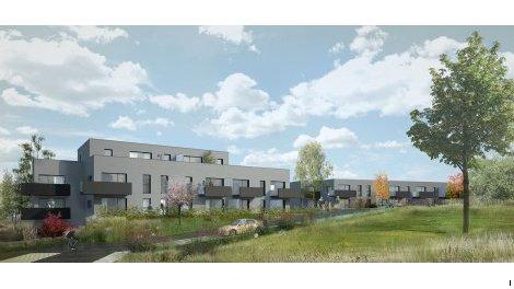 Appartement neuf Résidence Archipel investissement loi Pinel à Theix
