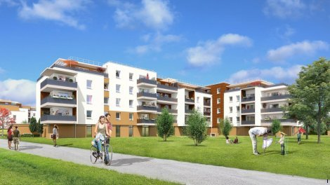 Appartement neuf Le Domaine d'Aspré éco-habitat à Meylan