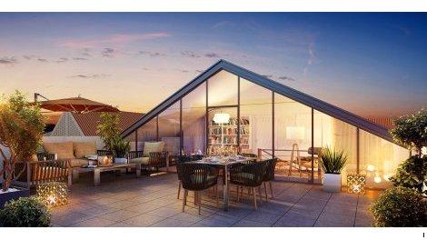 Appartement neuf Les Jardins de Mussonville éco-habitat à Bègles