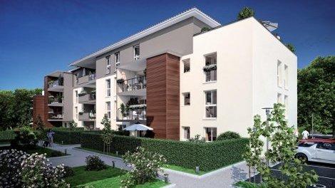 Appartement neuf La Cigalière éco-habitat à Maubec