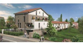 Appartements neufs Les Alles du Moulin investissement loi Pinel à Toulouse