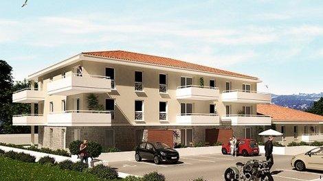 Appartement neuf Grasse C1 investissement loi Pinel à Grasse