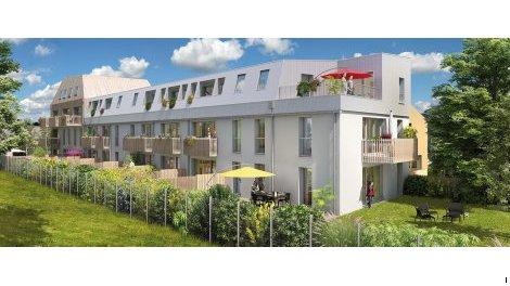 Appartements neufs Coeur Bouguenais investissement loi Pinel à Bouguenais