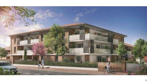 Appartements neufs La Clos des Lilas éco-habitat à Saint-Alban