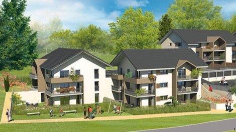 Appartement neuf La Balme-de-Sillingy C1 investissement loi Pinel à La Balme-de-Sillingy