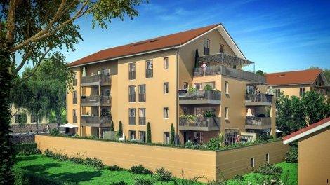 Appartement neuf Îlot Montginoux éco-habitat à Crémieu