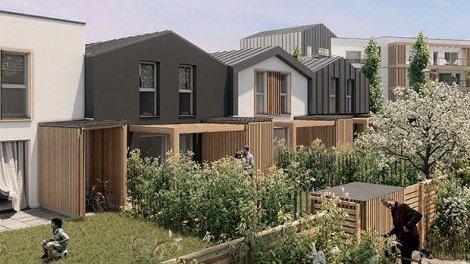 Appartements et maisons neuves Angers C2 éco-habitat à Angers
