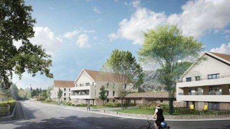Appartement neuf La Résidence du Rocher éco-habitat à Morestel