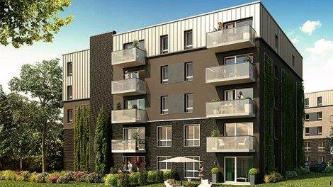 Appartements neufs Croix C1 investissement loi Pinel à Croix