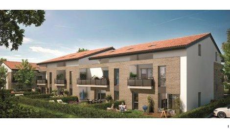 Appartement neuf Le Hameau de Mondonville éco-habitat à Mondonville