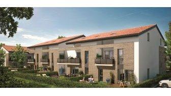 Appartements neufs Le Hameau de Mondonville investissement loi Pinel à Mondonville