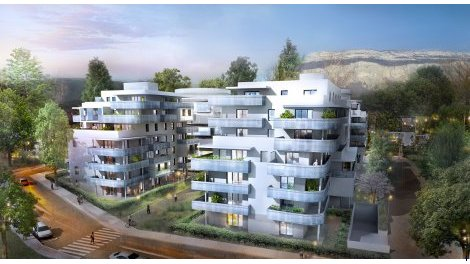 Appartement neuf L'Hestia Psla investissement loi Pinel à Meylan
