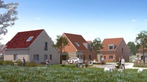 Appartements neufs Les Jardins du Bourg investissement loi Pinel à Vendeville