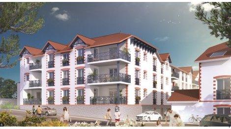 Appartements neufs Le Clos Sainte-Marie investissement loi Pinel à Pornic