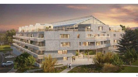 Appartement neuf Utopia investissement loi Pinel à Bruz
