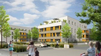 Appartements neufs Nouvelle Coupée 2 - Bâtiment 1 et 5 éco-habitat à Charnay-les-Mâcon