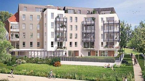 Appartements neufs Riverside investissement loi Pinel à Saint-André-Lez-Lille