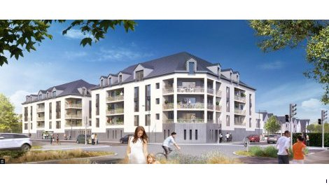 Appartements neufs Initial - Avrillé investissement loi Pinel à Avrillé