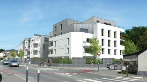 Appartements neufs Garden Park II investissement loi Pinel à Angers