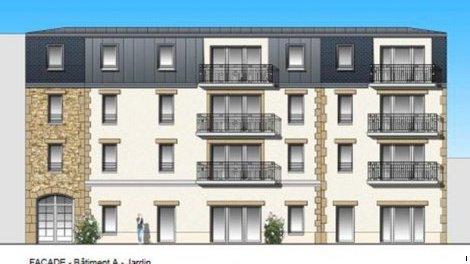 Appartement neuf Fouesnant C2 éco-habitat à Fouesnant