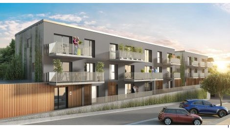 Appartement neuf Ekinox investissement loi Pinel à Jacob-Bellecombette