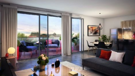 Appartement neuf Bleu & Royal à Toulouse