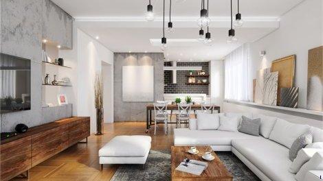 Appartement neuf Lyon 5ème C1 éco-habitat à Lyon 5ème