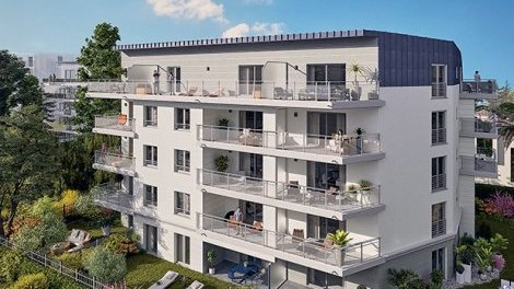 Appartement neuf Nice C4 éco-habitat à Nice