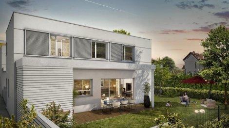 Appartements et maisons neuves Parc Lucile éco-habitat à Toulouse