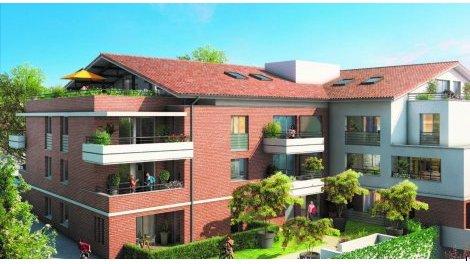 Appartement neuf Parc Tolosan éco-habitat à Castanet-Tolosan