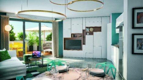 Appartement neuf Plaza Garonne éco-habitat à Toulouse