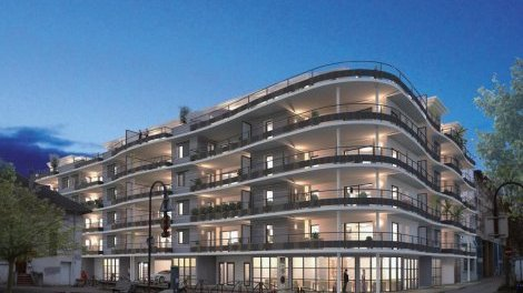 Appartement neuf Le Victor Hugo investissement loi Pinel à Bourgoin-Jallieu