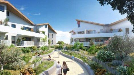 Appartement neuf Escale Marine éco-habitat à Marseillan