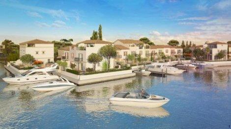 Appartement neuf Marina Corail éco-habitat à Aigues-Mortes