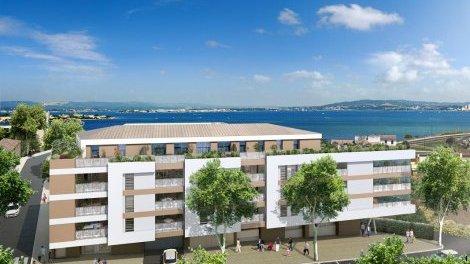 Appartement neuf Le Nautilus éco-habitat à Sète