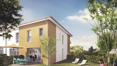 Maisons neuves Les Villas d'Esteban investissement loi Pinel à Beauzelle