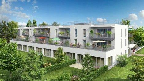 Appartement neuf Les Terres Blanches éco-habitat à Lux