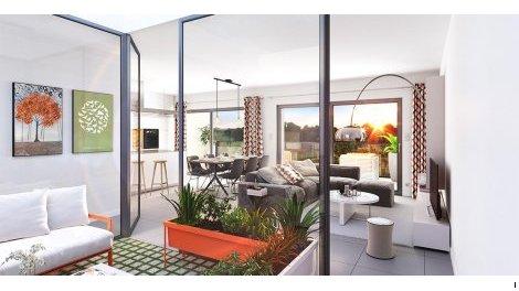 Appartement neuf Tetris éco-habitat à Bruges