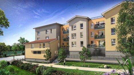 Appartement neuf Les Portes Romanes éco-habitat à Tournus
