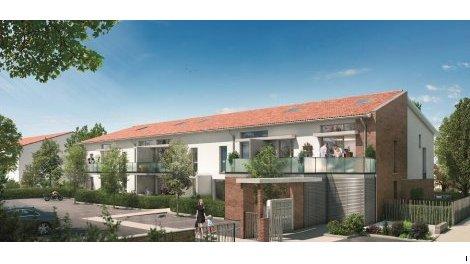 Appartement neuf Demeure des Chênes éco-habitat à Aucamville