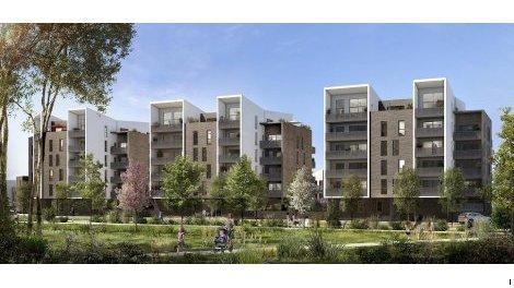 Appartements et villas neuves Le B47 à Beauzelle