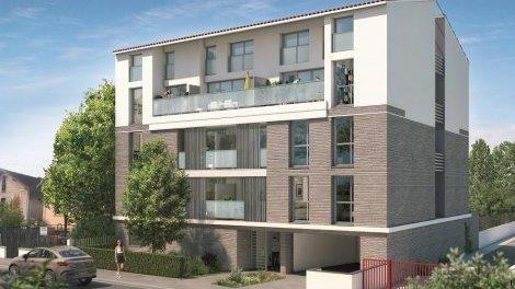 Appartement neuf Villa Patricia éco-habitat à Toulouse