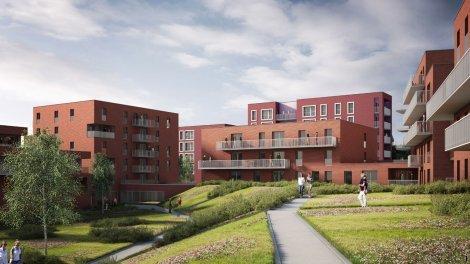 Appartement neuf Luminesens 3 Ilôt a investissement loi Pinel à Lens