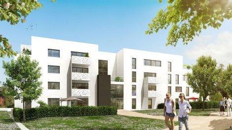 Appartement neuf Le Pisé investissement loi Pinel à Vezin-le-Coquet