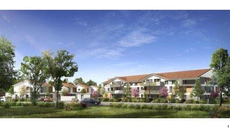 Appartements et villas neuves L'Azalee éco-habitat à Aussonne