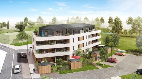 Appartement neuf Le Quadrant investissement loi Pinel à Cancale